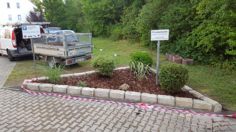 Neugestaltung Grünanlage