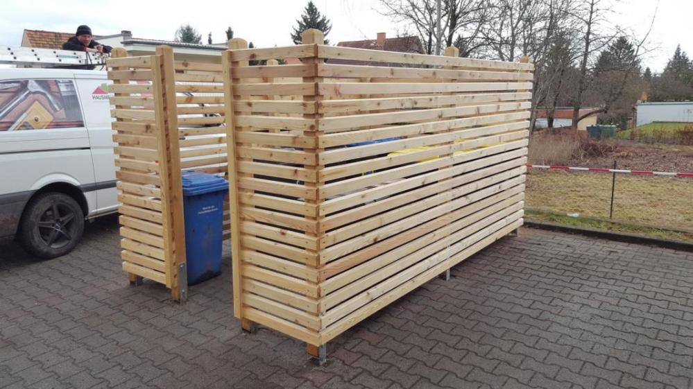 Holzeinfassung