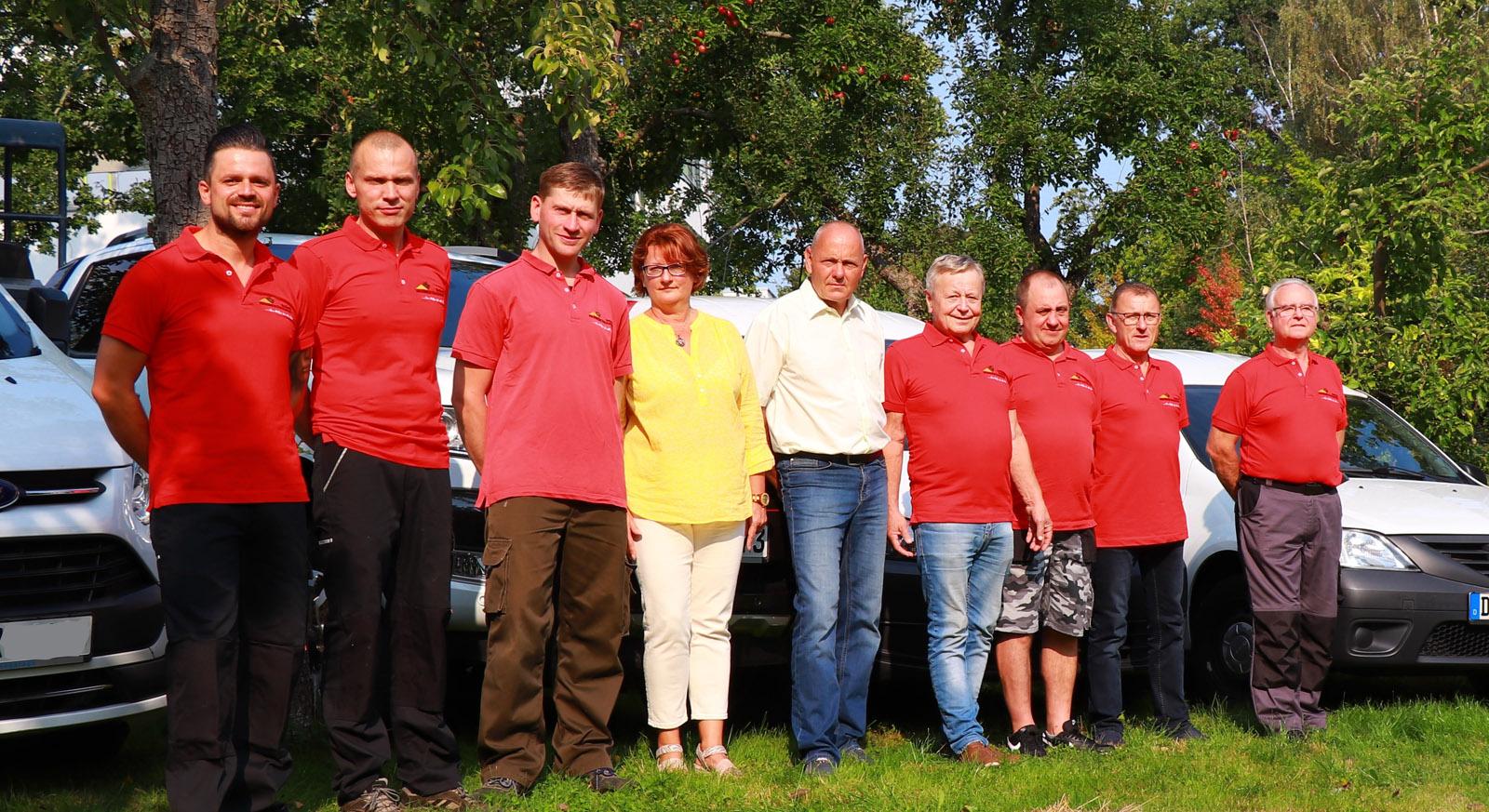 Team des Hausmeisterservices Schiertz Dresden